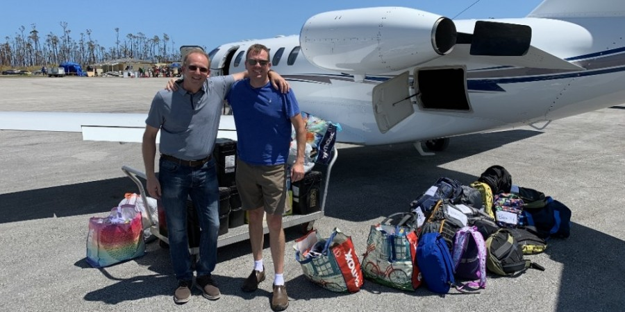 Business Aviation is Helping with Hurricane Dorian Relief Effort