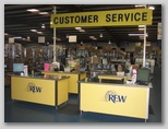 Customer Service Area