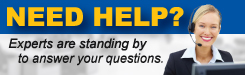 Need Help? Experts are standing by to answer your questions.