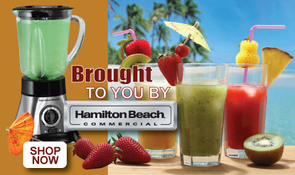 Brought to you by Hamilton Beach Commercial. Shop Now.