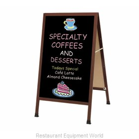Aarco Products Inc 1-WA-1B Sign Board, A-Frame