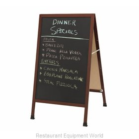 Aarco Products Inc 1-WA-1BP Sign Board, A-Frame