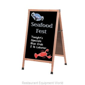 Aarco Products Inc A-1B Sign Board, A-Frame