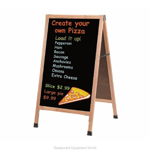 Aarco Products Inc A-1P Sign Board, A-Frame