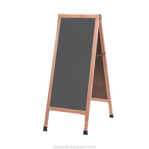 Aarco Products Inc A-35SS Chalk Board
