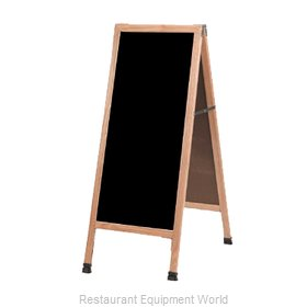 Aarco Products Inc A-3P Sign Board, A-Frame