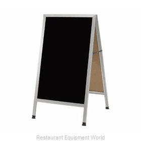 Aarco Products Inc AA-11 Sign Board, A-Frame