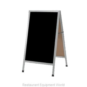 Aarco Products Inc AA-1B Sign Board, A-Frame