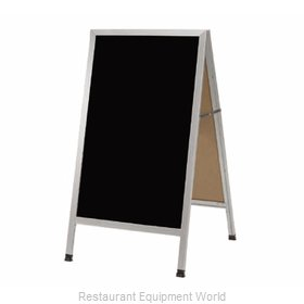 Aarco Products Inc AA-1BP Sign Board, A-Frame