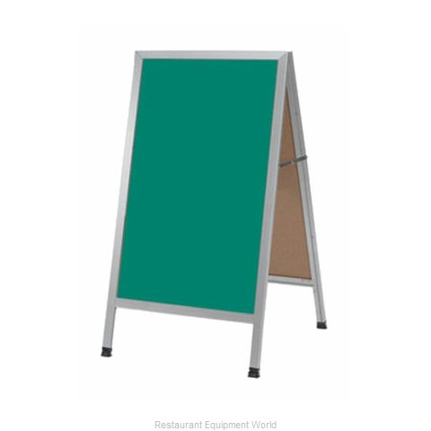 Aarco Products Inc AA-1SG Sign Board, A-Frame