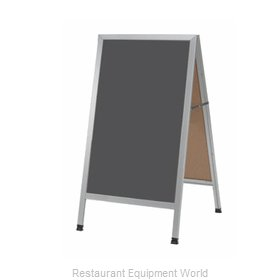 Aarco Products Inc AA-1SS Sign Board, A-Frame