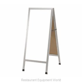 Aarco Products Inc AA-35 Sign Board, A-Frame