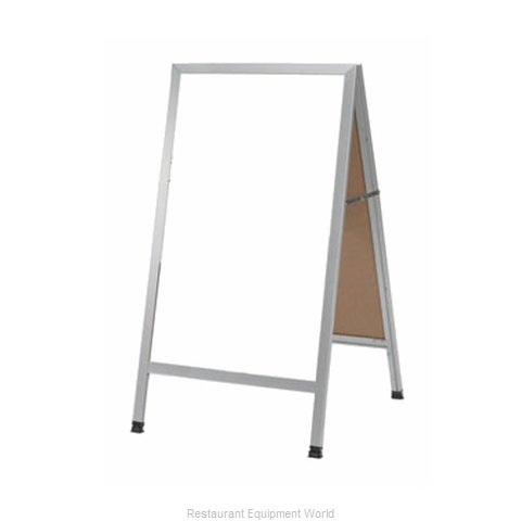 Aarco Products Inc AA-5SW Sign Board, A-Frame