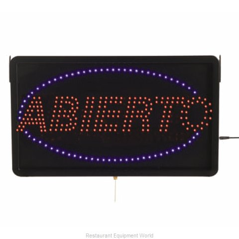 Aarco Products Inc ABI08L Sign, Lighted