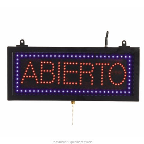 Aarco Products Inc ABI08S Sign, Lighted