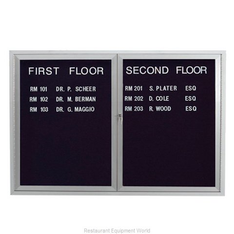 Aarco Products Inc ADC3648L Letter Board