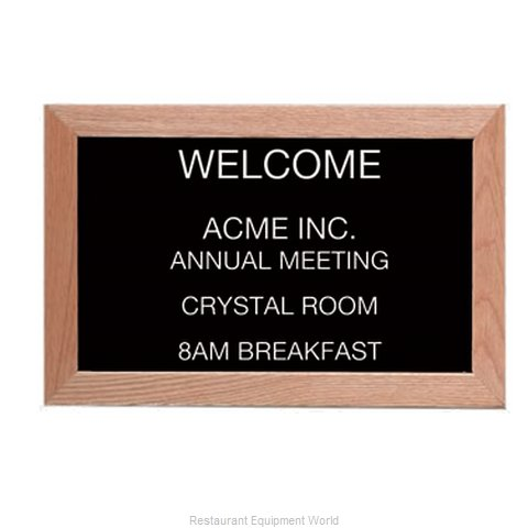 Aarco Products Inc AOFD1218L Letter Board