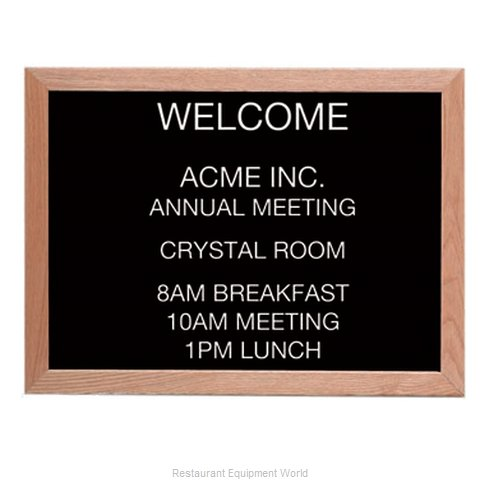 Aarco Products Inc AOFD1824L Letter Board