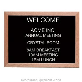 Aarco Products Inc AOFD1824L Message Center Board