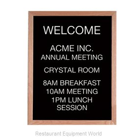 Aarco Products Inc AOFD3024L Letter Board