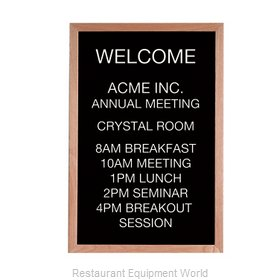 Aarco Products Inc AOFD3624L Letter Board
