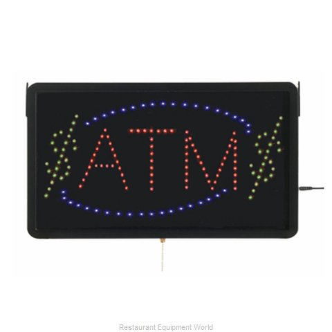 Aarco Products Inc ATM10L Sign, Lighted