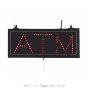 Aarco Products Inc ATM10S Sign, Lighted