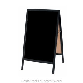 Aarco Products Inc BA-1B Sign Board, A-Frame