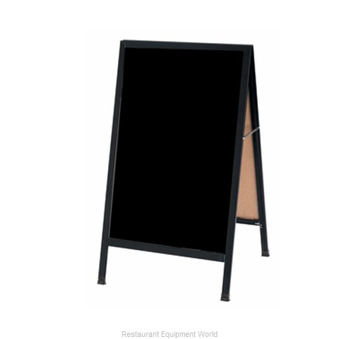 Aarco Products Inc BA-1BP Sign Board, A-Frame