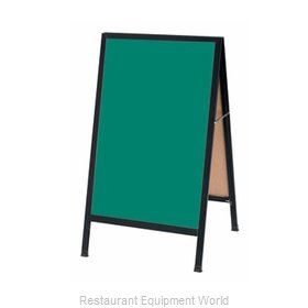 Aarco Products Inc BA-1G Sign Board, A-Frame