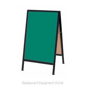 Aarco Products Inc BA-1SG Sign Board, A-Frame