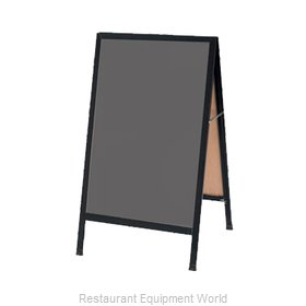 Aarco Products Inc BA-1SS Sign Board, A-Frame