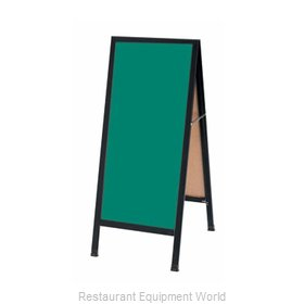 Aarco Products Inc BA-311SG Sign Board, A-Frame