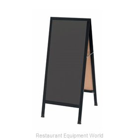 Aarco Products Inc BA-35SS Sign Board, A-Frame