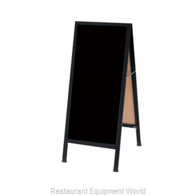 Aarco Products Inc BA-3BP Sign Board, A-Frame