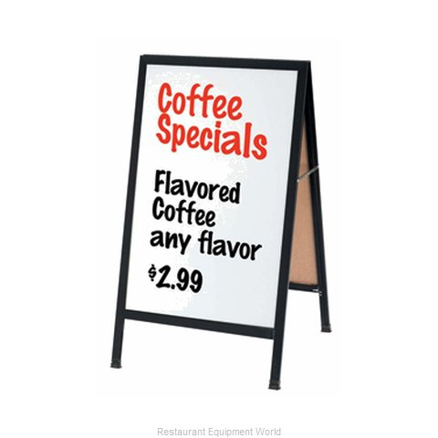 Aarco Products Inc BA-5 Sign Board, A-Frame