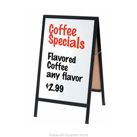 Aarco Products Inc BA-5SW Sign Board, A-Frame