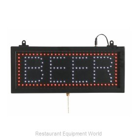 Aarco Products Inc BEE06S Sign, Lighted