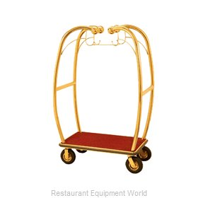 Aarco Products Inc BEL-101B-4P Cart, Luggage