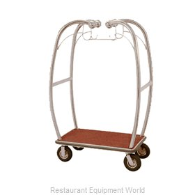 Aarco Products Inc BEL-101C-4P Luggage Cart