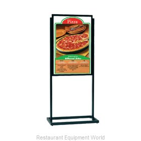 Aarco Products Inc BPH1BK Sign, Freestanding