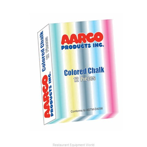 Aarco Products Inc. CCS-12 Color Chalk