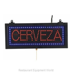 Aarco Products Inc CER07S Sign, Lighted