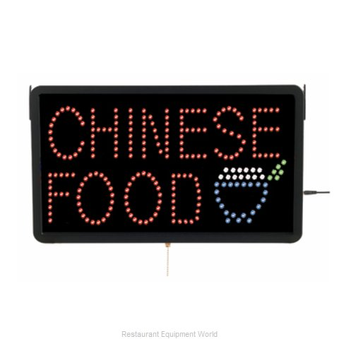 Aarco Products Inc CHI09L Sign, Lighted (Magnified)