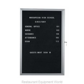 Aarco Products Inc EDC2418L Letter Board