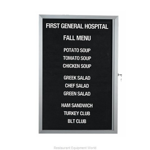 Aarco Products Inc EDC3624L Letter Board