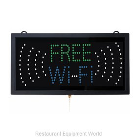 Aarco Products Inc FRE11M Sign, Lighted
