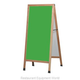 Aarco Products Inc LA1SG Sign Board, A-Frame