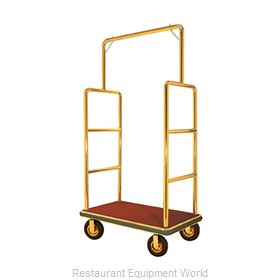 Aarco Products Inc LC-1B-4P Luggage Cart