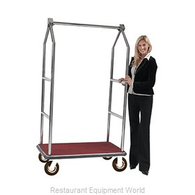 Aarco Products Inc LC-2C-4P Luggage Cart